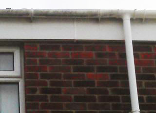 Gutter, Fascias & Downpipe Cleaning Underway